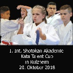 1. Int. Shotokan Akademie Kata-Talent-Cup