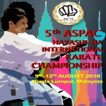 5th ASPAC HAYASHI-HA INTERNATIONAL KARATE CHAMPIONSHIP 2018