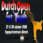 ONKJ 2018 - Dutch Open for Youth Under 21  -- ALMERE NETHERLANDS --