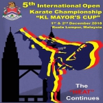 5th International Open Karate Championship KL MAYORS CUP 2018