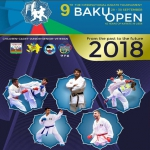 9. International Baku Open 2018 - Karate Tournament in Azerbaijan