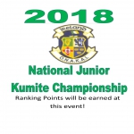 ONAKAI 2018 National Junior Kumite Championship