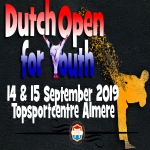 ONJK 2019 - Dutch Open for Youth Under 21  -- ALMERE NETHERLANDS --