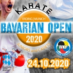 8. Bavarian Open for Juniors and Cadets 2020 - Due to corona pandemic CANCELLED