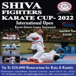 Postponed - Shiva Fighters Karate Cup 2020