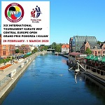 "19 th INTERNATIONAL KARATE CHAMPIONSHIPS "" CENTRAL EUROPE OPEN"""