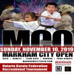 Markham City Open - OKF Recreational Tournament - Nov 2019