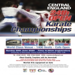 Central England 24th Open Karate Championships 2021