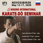 Russia Karatedō Seminar 2020 - Postponed