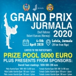 5000 EURO PRIZE POOL - Grand Prix Jurmala 2020
