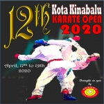 12th KOTA KINABALU KARATE OPEN 2020