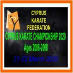 CYPRUS KARATE CHAMPIONSHIP 2020 Ages 2006-2008