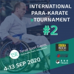 2nd International Para-Karate etournament by Tervel Sport Events