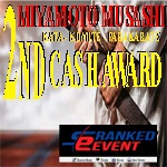2nd  MIYAMOTO MUSASHI TOURNAMENT - FIVE RINGS - KATA, KUMITE, KATA TEAM, PARAKARATE - RANKED EVENT
