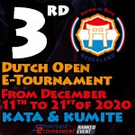 3RD DUTCH OPEN E-TOURNAMENT - SPONSORED BY HAYASHI -