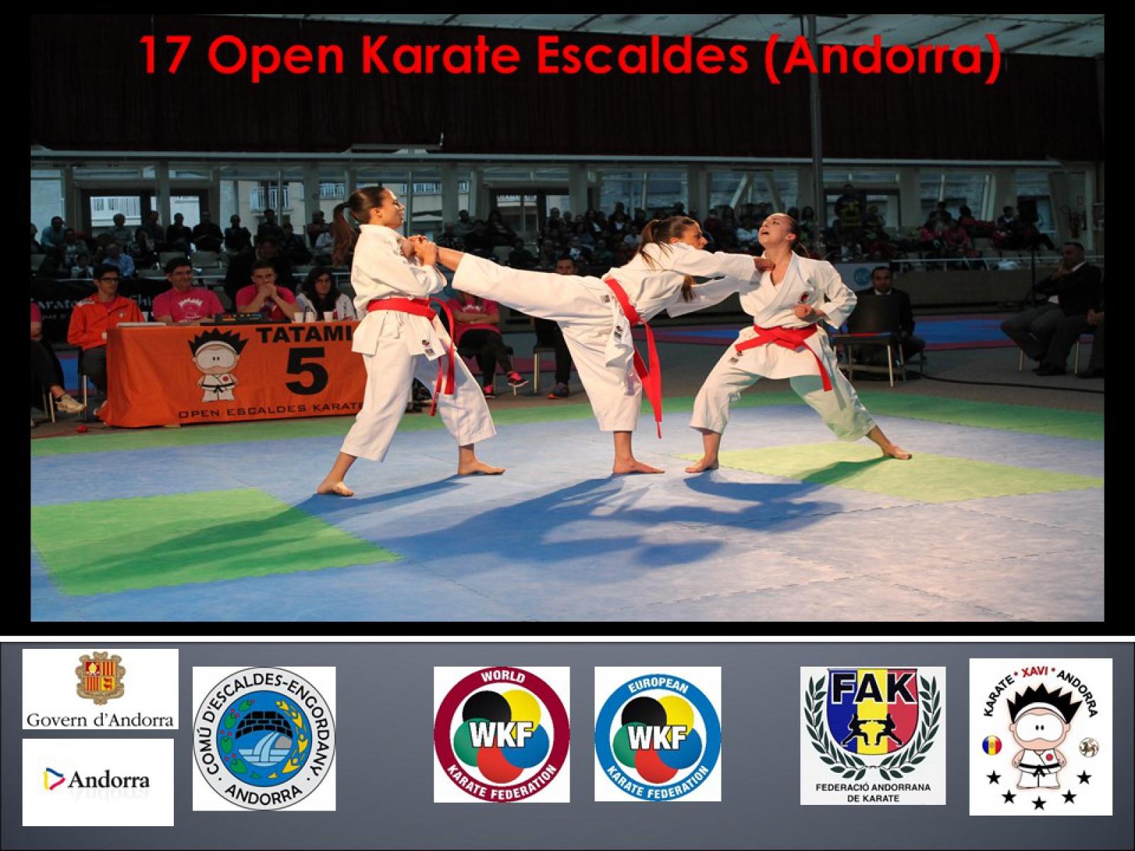 Resultado de imagen de 18 open karate escaldes engordany