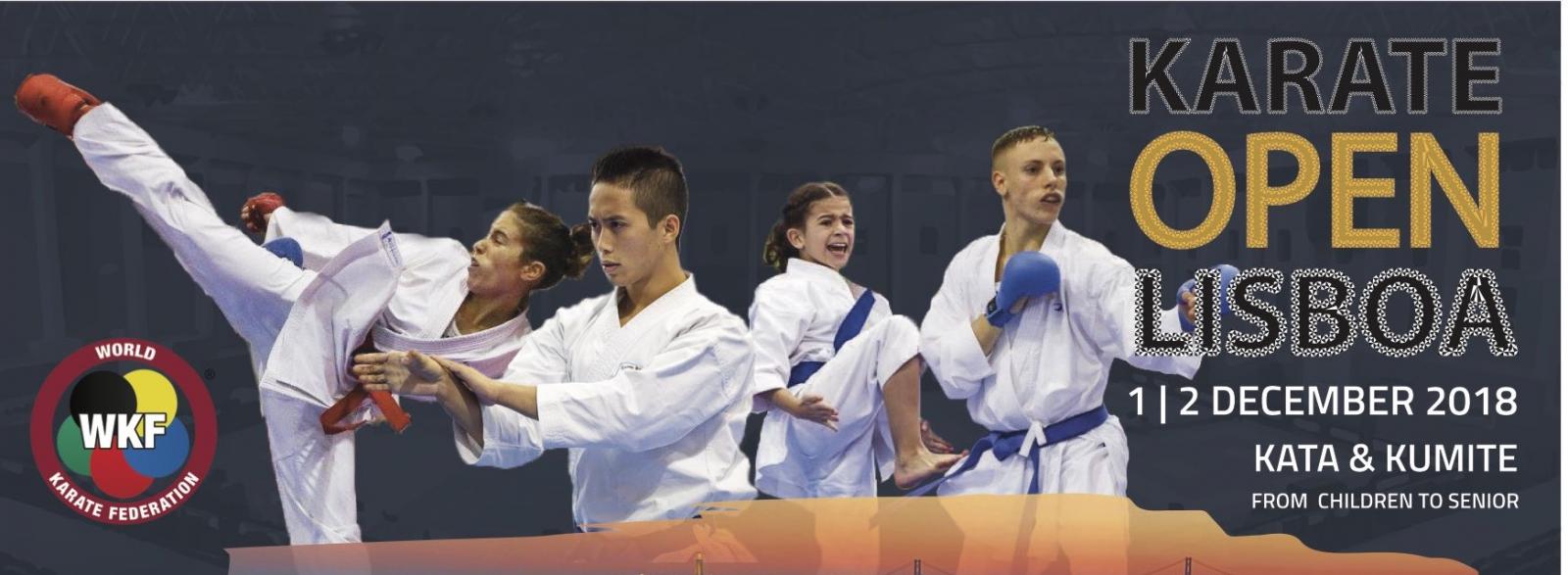 Resultado de imagen de open lisboa karate 2018