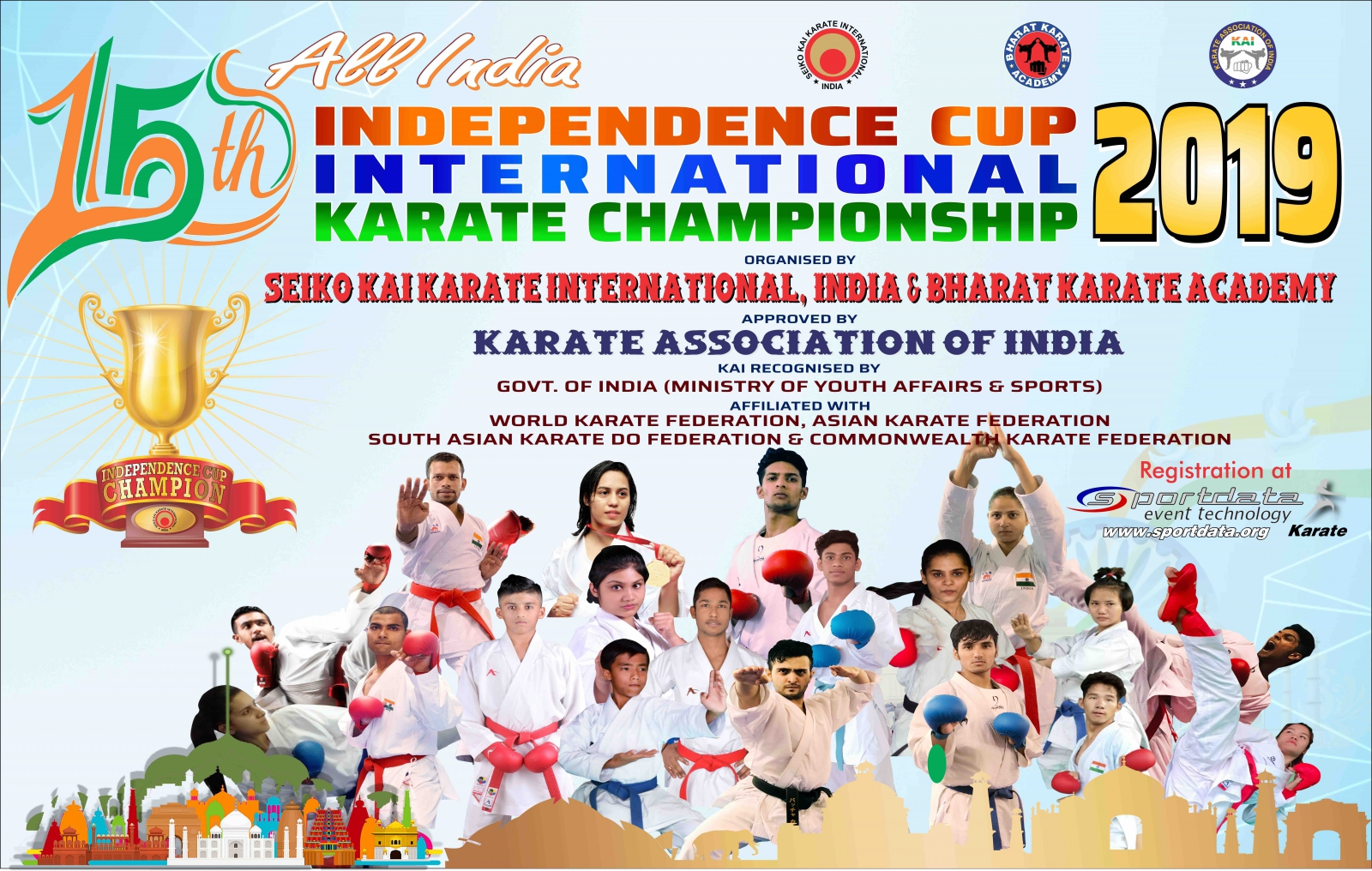 SET Online Karate: All India Independence Cup International Karate