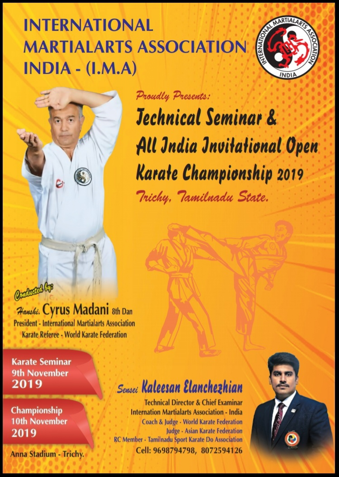 SET Online Karate: I M A Awards All India Invitational Open