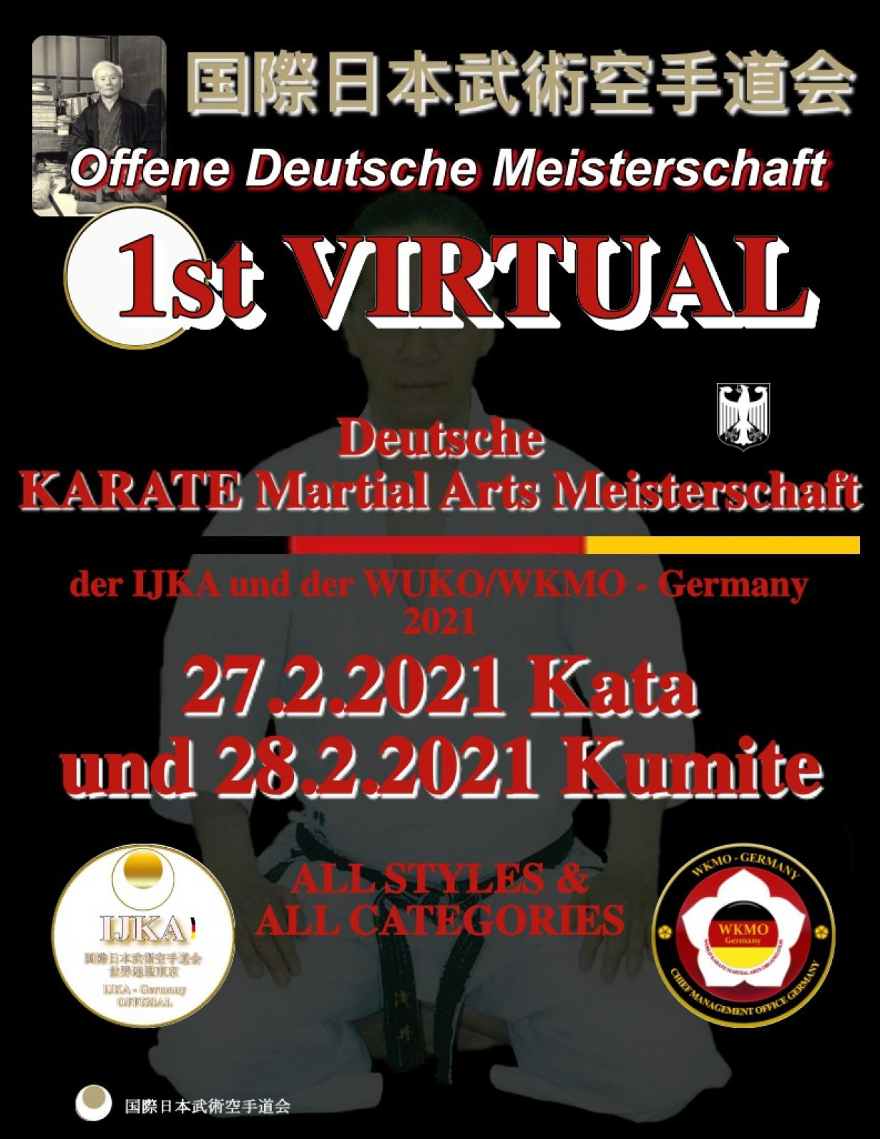 Karate Deutsche Meisterschaft 2021