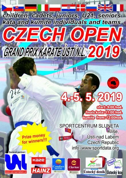 SET Online Czech Republic: XXXII  CZECH OPEN KARATE CUP 2019- WORLD