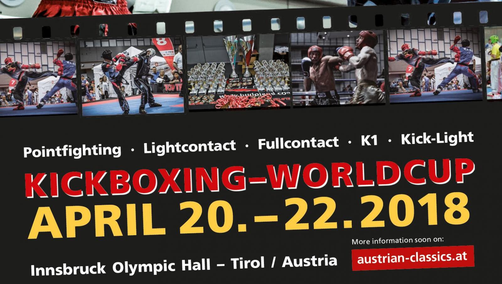 02b333723499 Kickboxing World Series  The Austrian Classics 2018