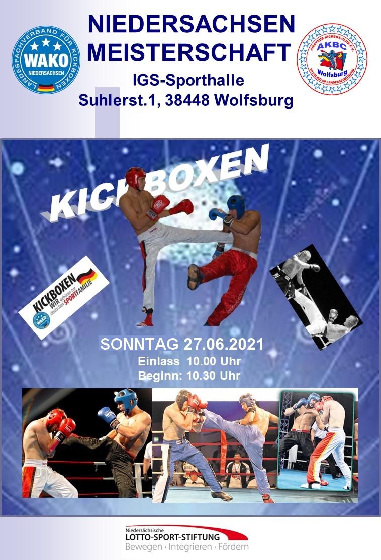 SET Online WAKO Germany: Niedersachsen Meisterschaft 2021