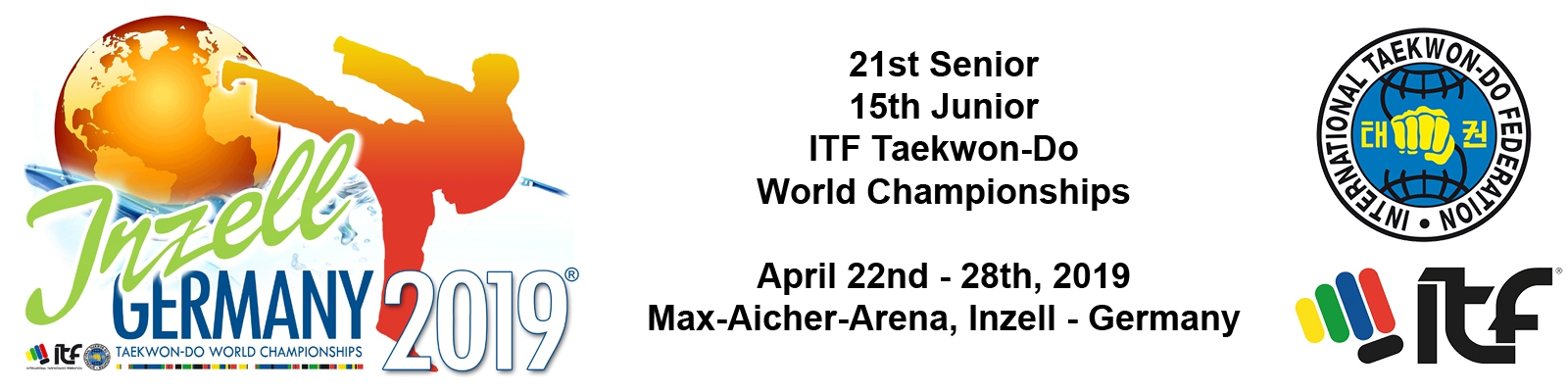 Calendario Itf.Itf 21st Senior 15th Junior Itf Taekwon Do World